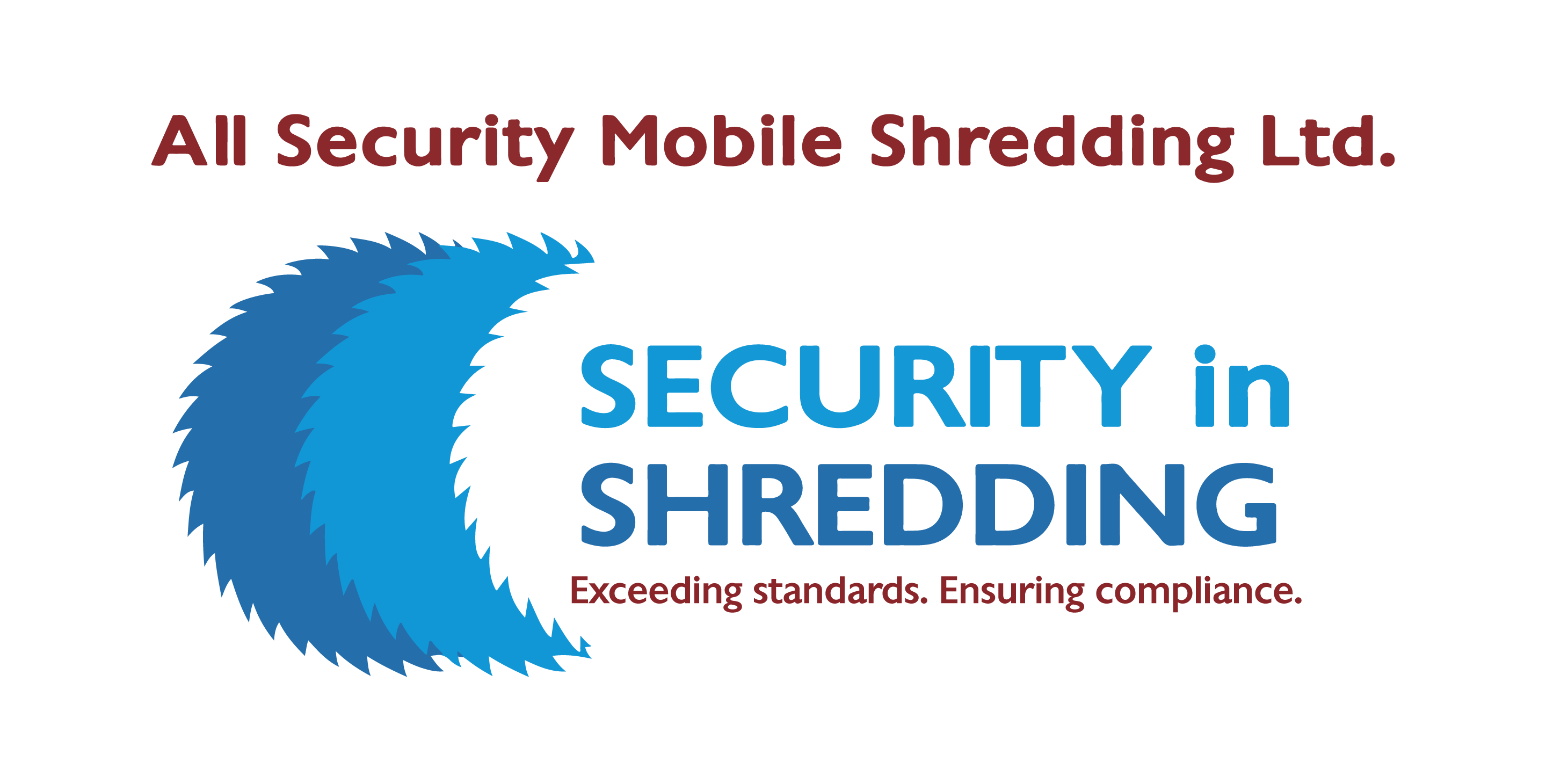 Security in Shredding Logo. 2014.