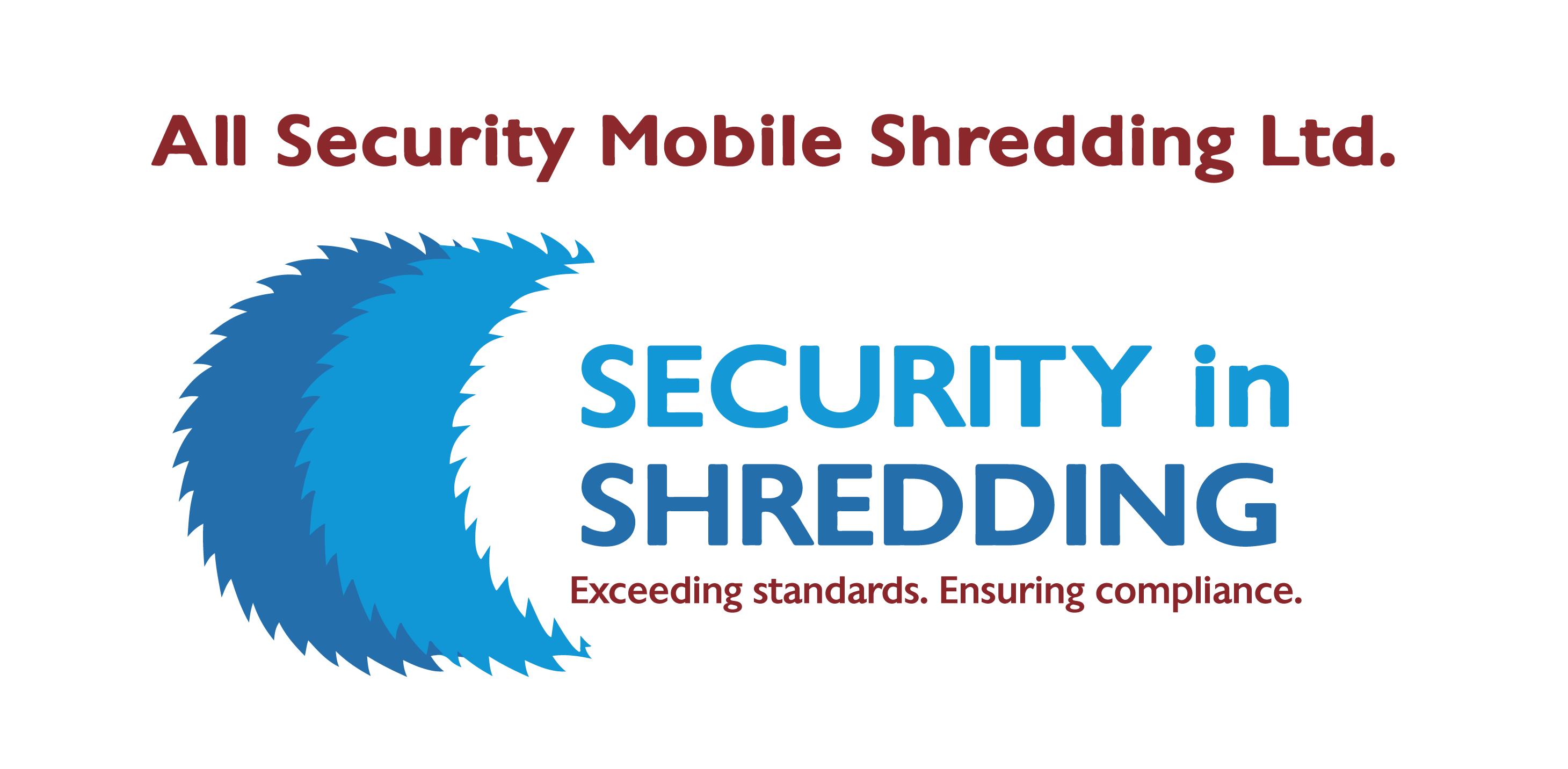 Security in Shredding Logo. 2014.