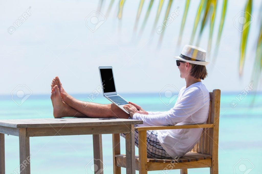 data security when on holiday