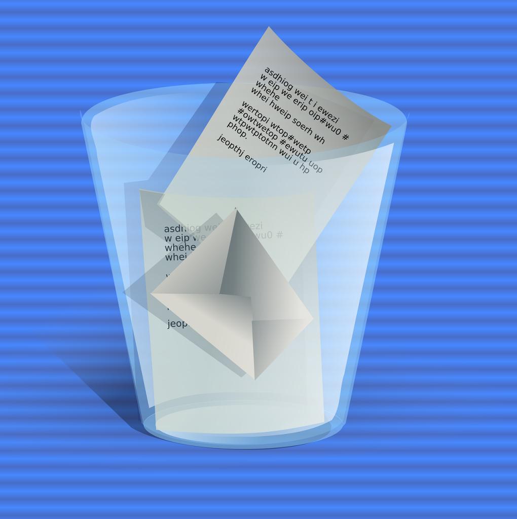 Rubbish documents