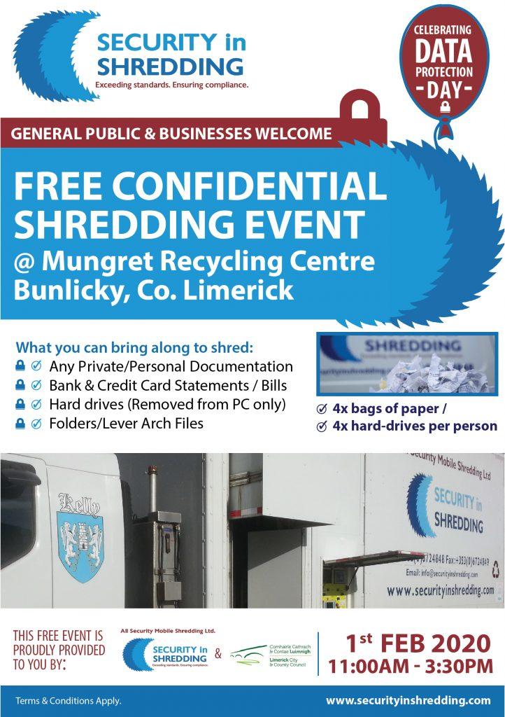 Confidential Shredding Event